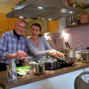 Basenfasten und gemeinsam kochen
